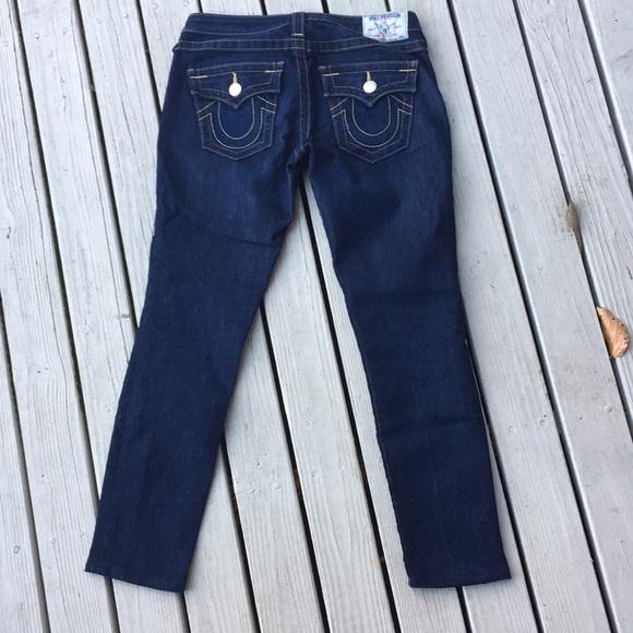 True Religion Denim - True religion woman's jeans skinny 26 x27 flaps